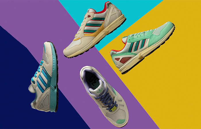 adidas Originals Celebrates 30 Years Of Torsion By Launching Colourful ZX Collection ft