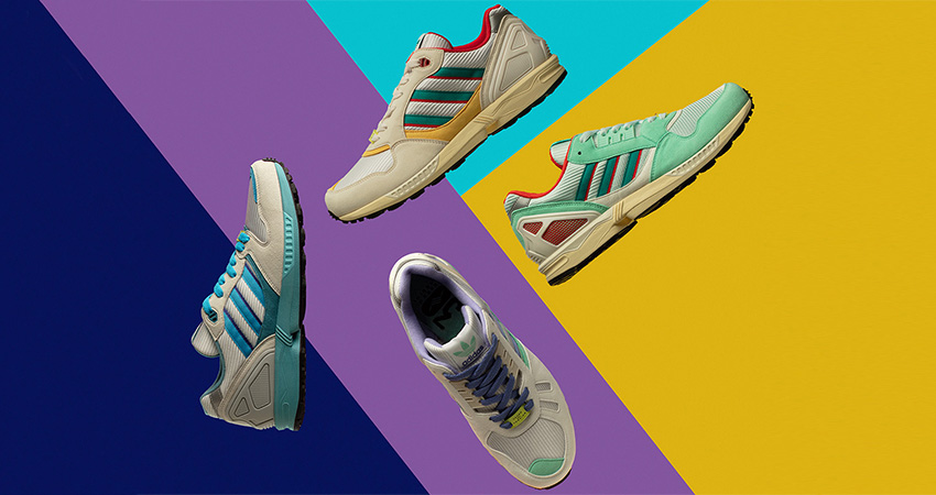 adidas Originals Celebrates 30 Years Of Torsion By Launching Colourful ZX Collection