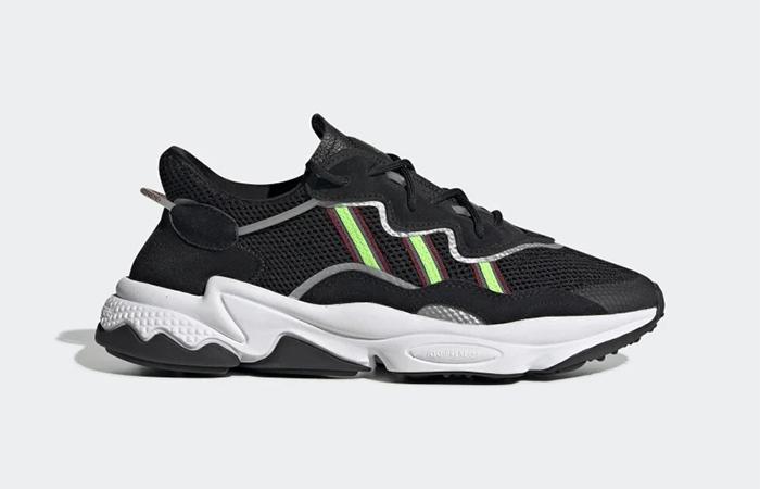 adidas Ozweego Black Green EE7002