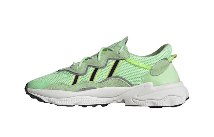 adidas Ozweego Glow Green EE6466 01