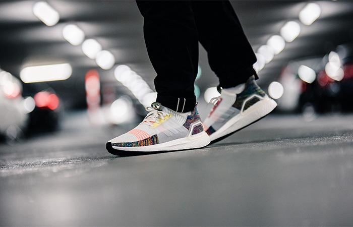 adidas Ultra Boost 19 Pride EF3675 on foot 01