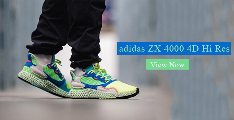 adidas ZX 4000 4D Hi Res Yellow EF9623