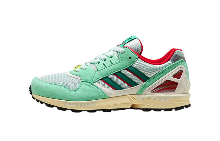 new styles 7189a 41808 adidas ZX 9000 30 Years Of Torsion Mint FU8403