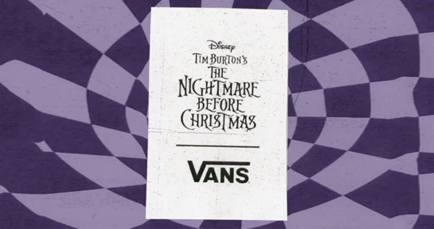 A Vans Collaboration Coming With 'The Nightmare Before Christmas'