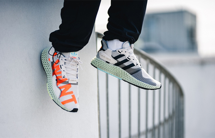 AN On Foot Look At The Upcoming adidas ZX 4000 4D I Want I Can Bright Cyan ft