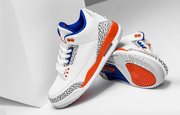 Air Jordan 3 Knicks White Releasing This Week ft