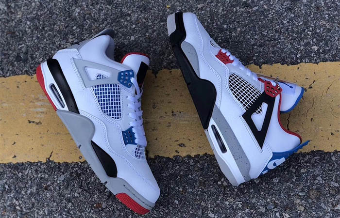 Air Jordan 4 What The White Red CI1184-146 02