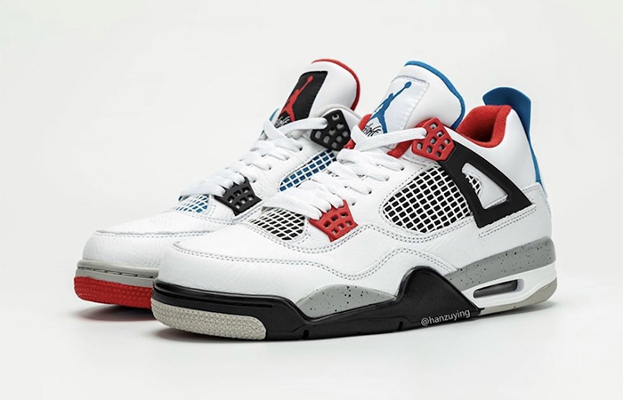 Air Jordan 4 What The White Red CI1184-146 04