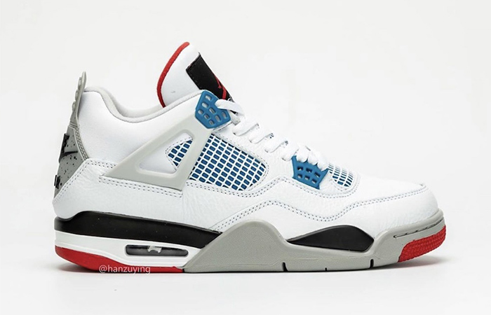 Air Jordan 4 What The White Red CI1184-146 05