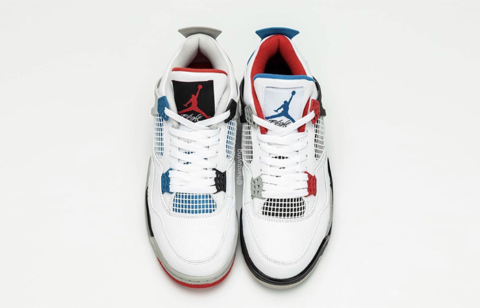 Air Jordan 4 What The White Red CI1184-146 06