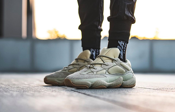 An On Foot Look At The Yeezy Boost 500 Stone ft