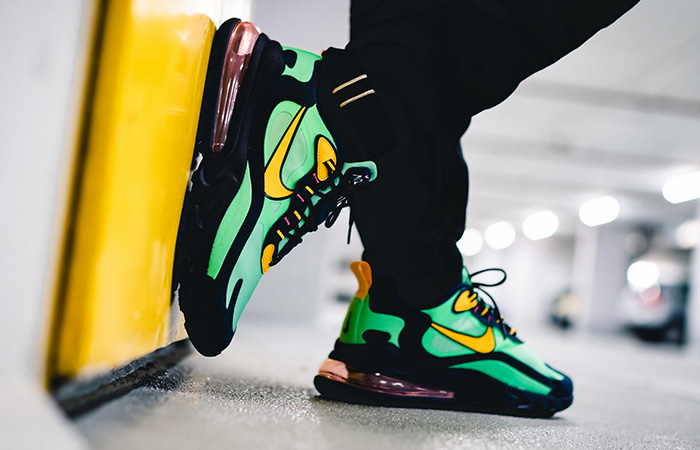 Best Look At The Nike Air Max 270 React Electro Green ft