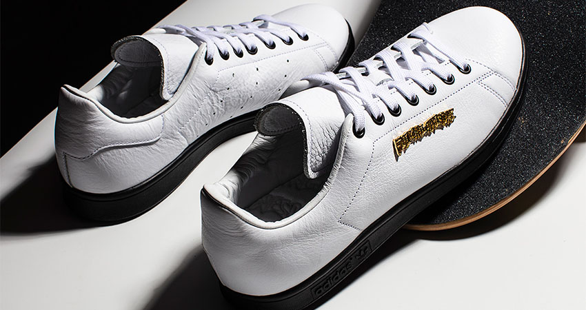 Closer Look At The Fucking Awesome adidas Stan Smith White 02