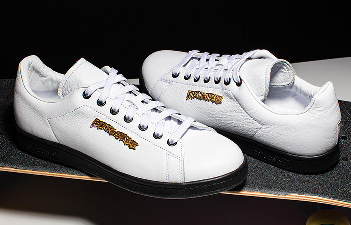 Closer Look At The Fucking Awesome adidas Stan Smith White ft