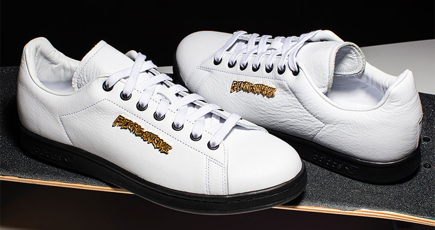 Closer Look At The Fucking Awesome adidas Stan Smith White
