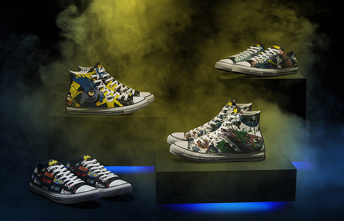 Converse Celebrates 80 Years of Batman By Releasing This Six Different Sneakers ft