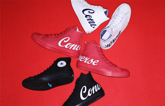 Converse Presenting Big Logo Embroidery On The Upcoming Chuck Taylor 100 Pack ft
