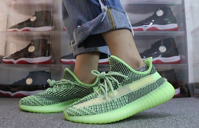 First On Foot Look At The Yeezy Boost 350 V2 'Yeezreel' ft