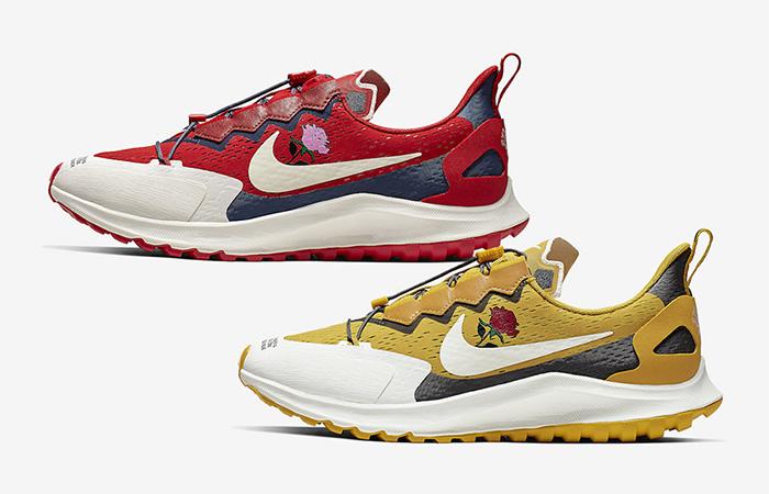 Gyakusou Nike Zoom Pegasus 36 Rose Coming With Two Enchanting Colour ft