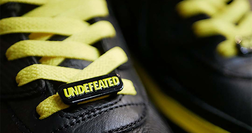 Have A Closer Look At The New Vibe UNDEFEATED Nike Air Max 90 Black Yellow Toe 02