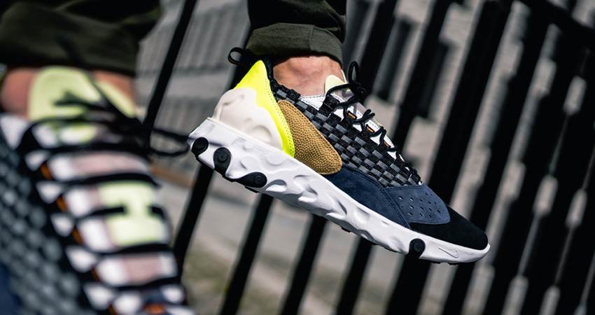 Have An Eye-Catching Look At The Upcoming Nike React Sertu The 10th Navy 01