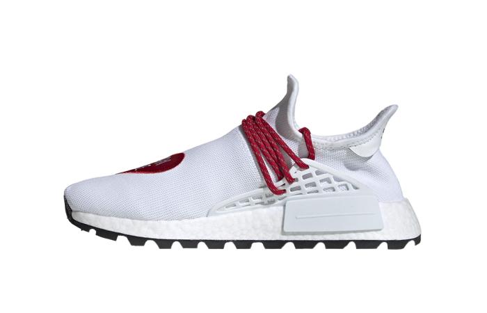 Human Made adidas NMD Hu Red White EF7223 01