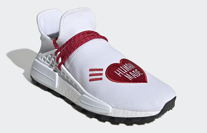 Human Made adidas NMD Hu Red White EF7223 02