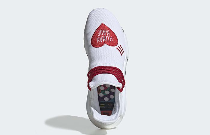 Human Made adidas NMD Hu Red White EF7223 04