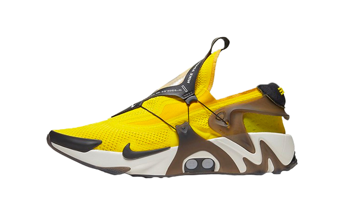 Nike Adapt Huarache Yellow CT4089-710 01