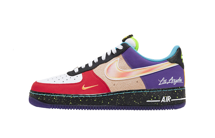 Nike Air Force 1 Low What The LA Multi CT1117-100 01