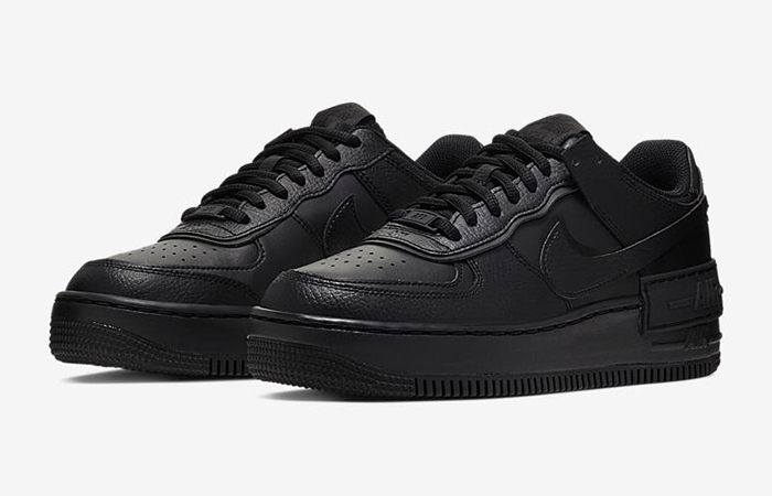 Nike Air Force 1 Shadow Black CI0919-001 02