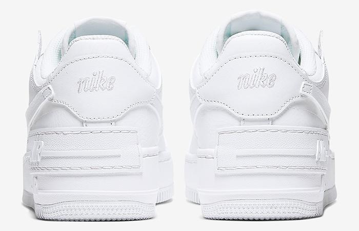 Nike Air Force 1 Shadow White CI0919-100 06