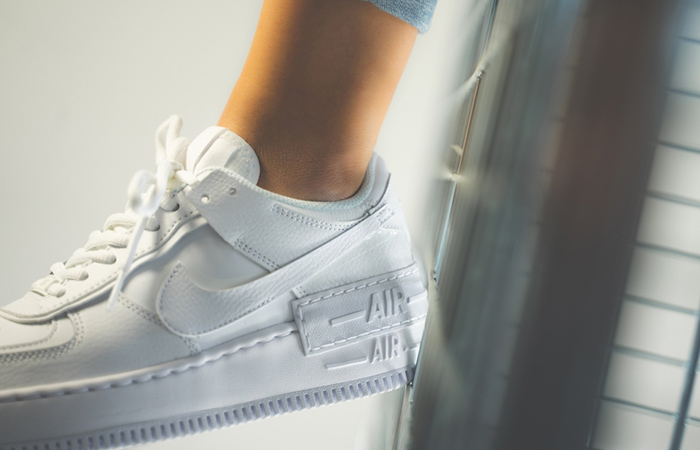 Nike Air Force 1 Shadow White CI0919-100 on foot 03
