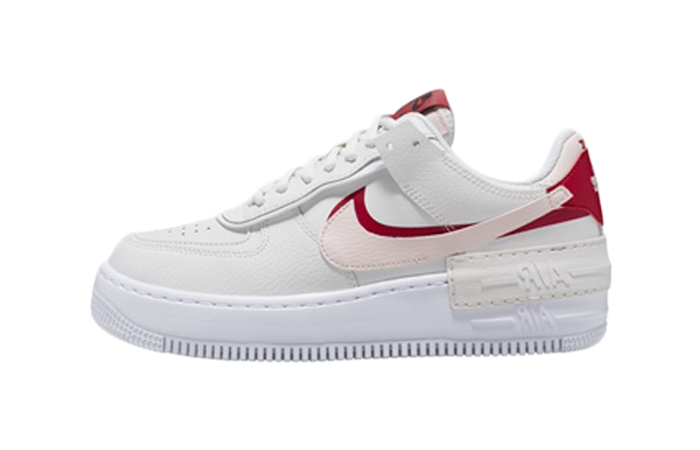 Nike Air Force 1 Shadow White Red CI0919-003 01