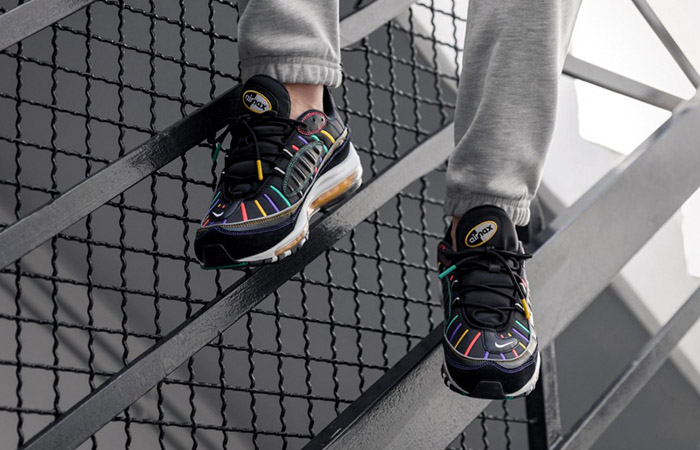 Nike Air Max 98 Black Multi Bv0989 023 Fastsole