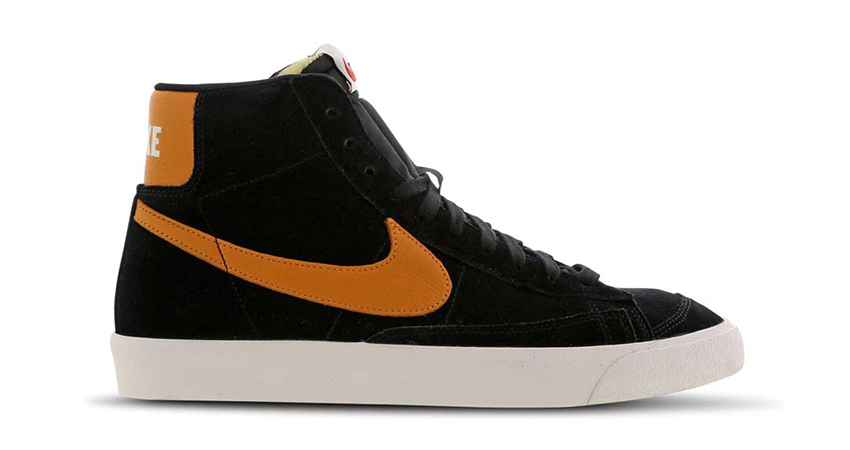 Nike Blazer Mid 'Black' And 'Yellow' Available In FootLocker UK 01