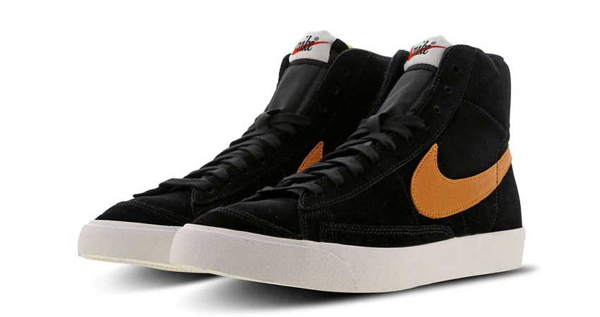 Nike Blazer Mid 'Black' And 'Yellow' Available In FootLocker UK 02