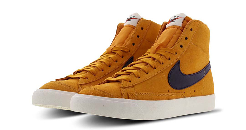 Nike Blazer Mid 'Black' And 'Yellow' Available In FootLocker UK 04
