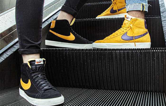 Nike Blazer Mid 'Black' And 'Yellow' Available In FootLocker UK ft
