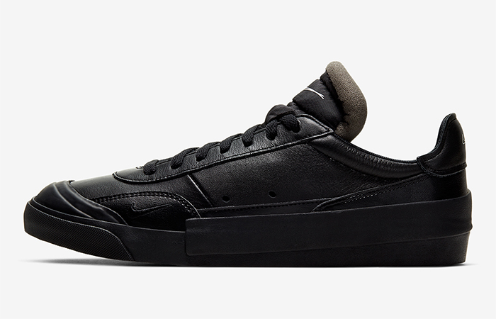 Nike Drop Type LX Dressed Up With A Triple Black Look ft