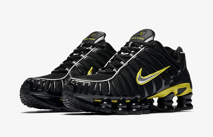 Nike Shox TL Black Yellow CN0151-002 02