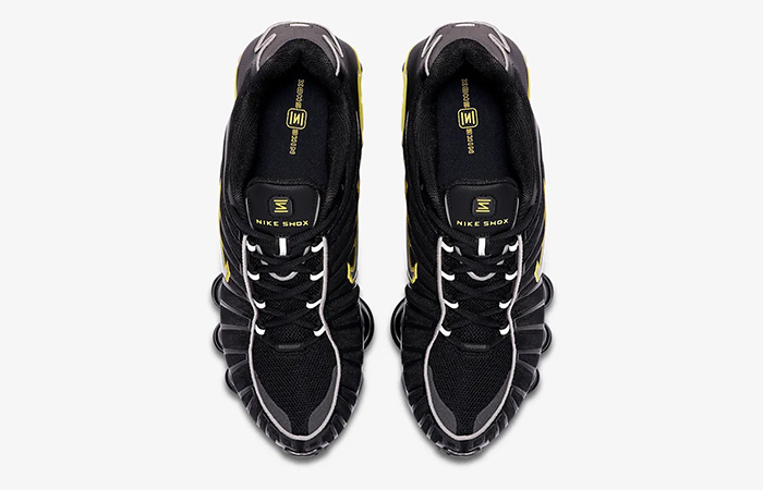 Nike Shox TL Black Yellow CN0151-002 04