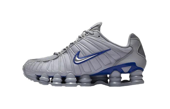 Nike Shox TL Metalic Silver Blue CN0151-001 01