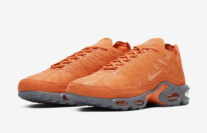 Nike TN Air Max Plus Grey Orange CD0882-800 02