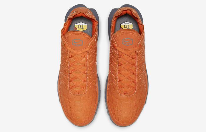 Nike TN Air Max Plus Grey Orange CD0882-800 04