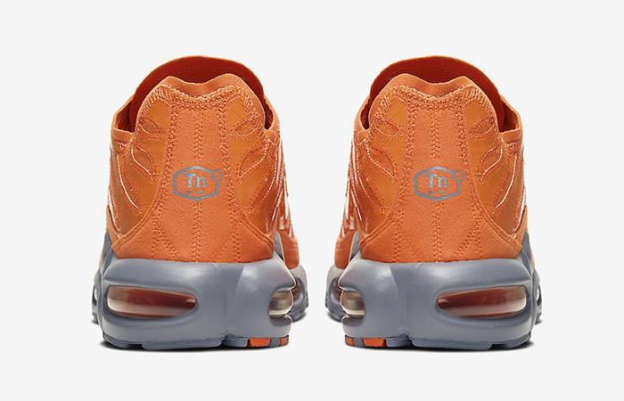 Nike TN Air Max Plus Grey Orange CD0882-800 05