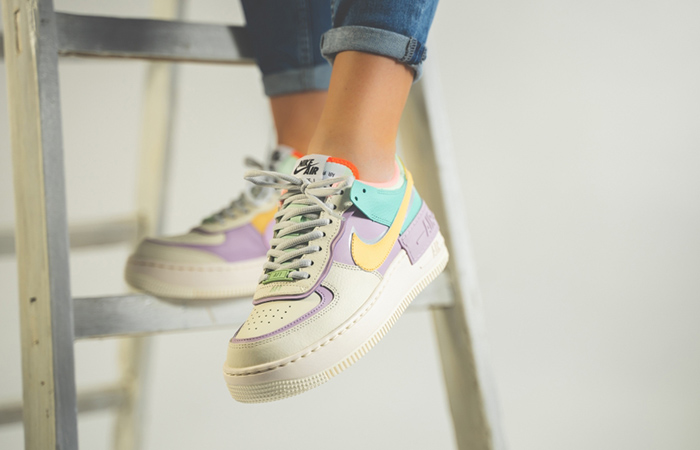 nike air force 1 shadow multi