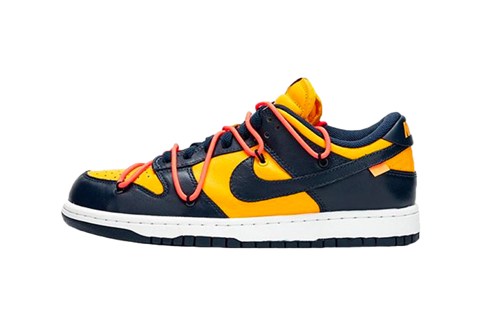 Off-White Nike Dunk Low Yellow Toe CT0856-700 01
