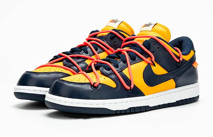 Off-White Nike Dunk Low Yellow Toe CT0856-700 02