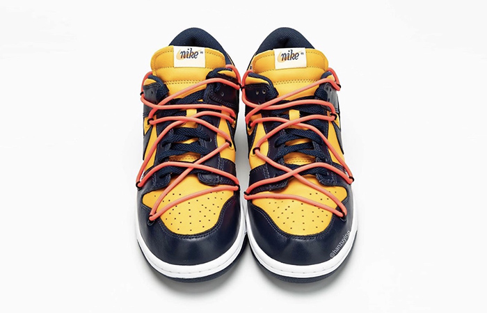 Off-White Nike Dunk Low Yellow Toe CT0856-700 04